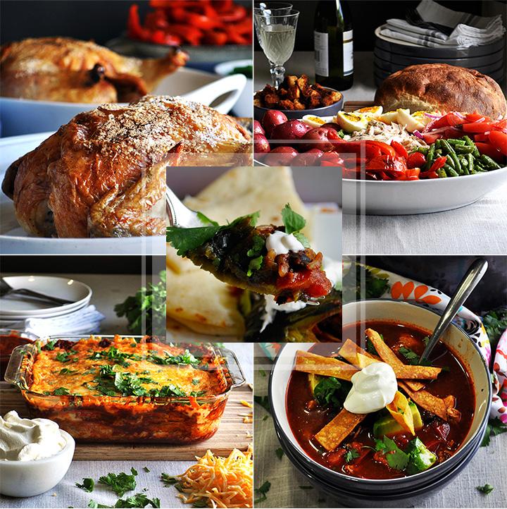 Winter weekly meal plan #1
