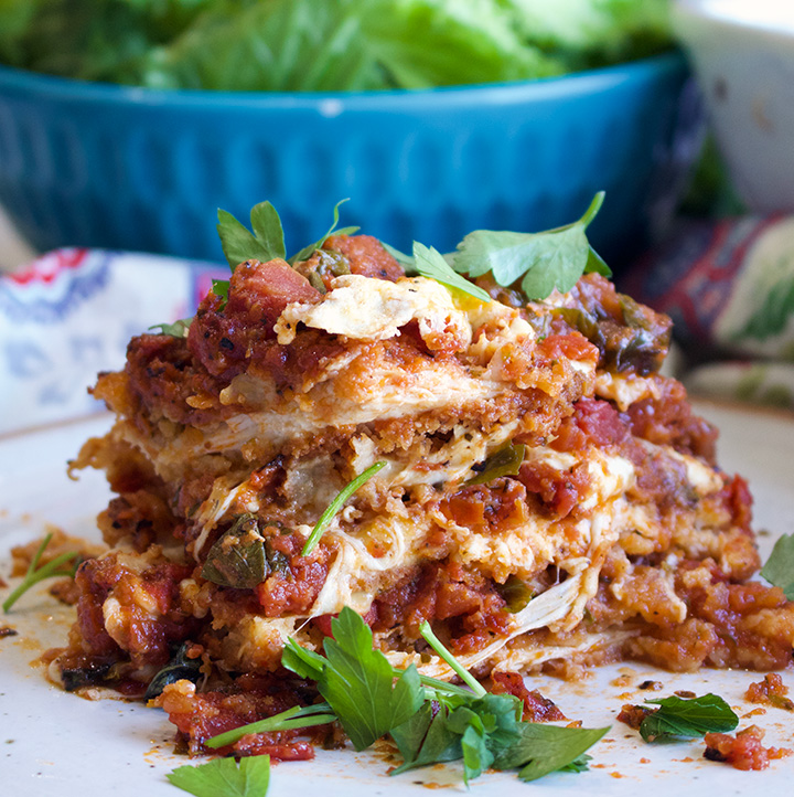 How To Make Eggplant Or Chicken Parmesan A Little And A Lot