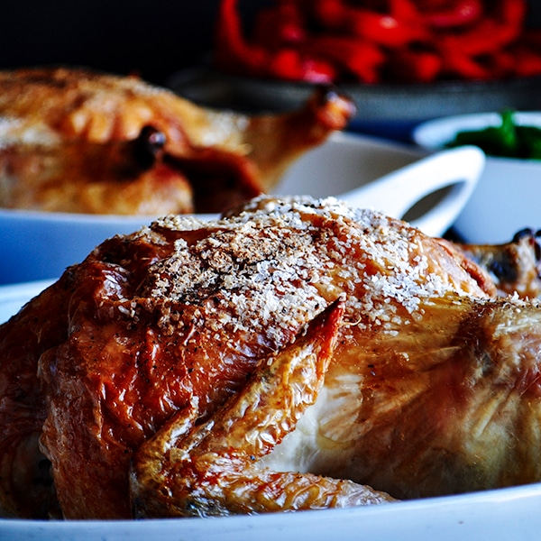 Perfect, simple roast chicken.