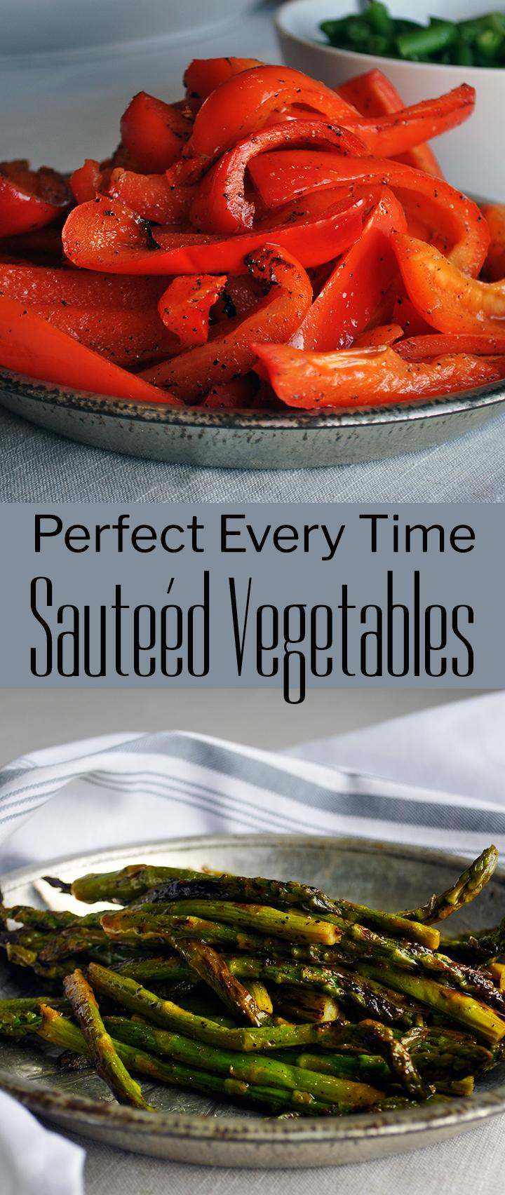 Perfect sautéed vegetables | alittleandalot.com
