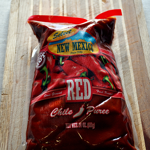 select New Mexico Red Chili Puree for red enchilada sauce