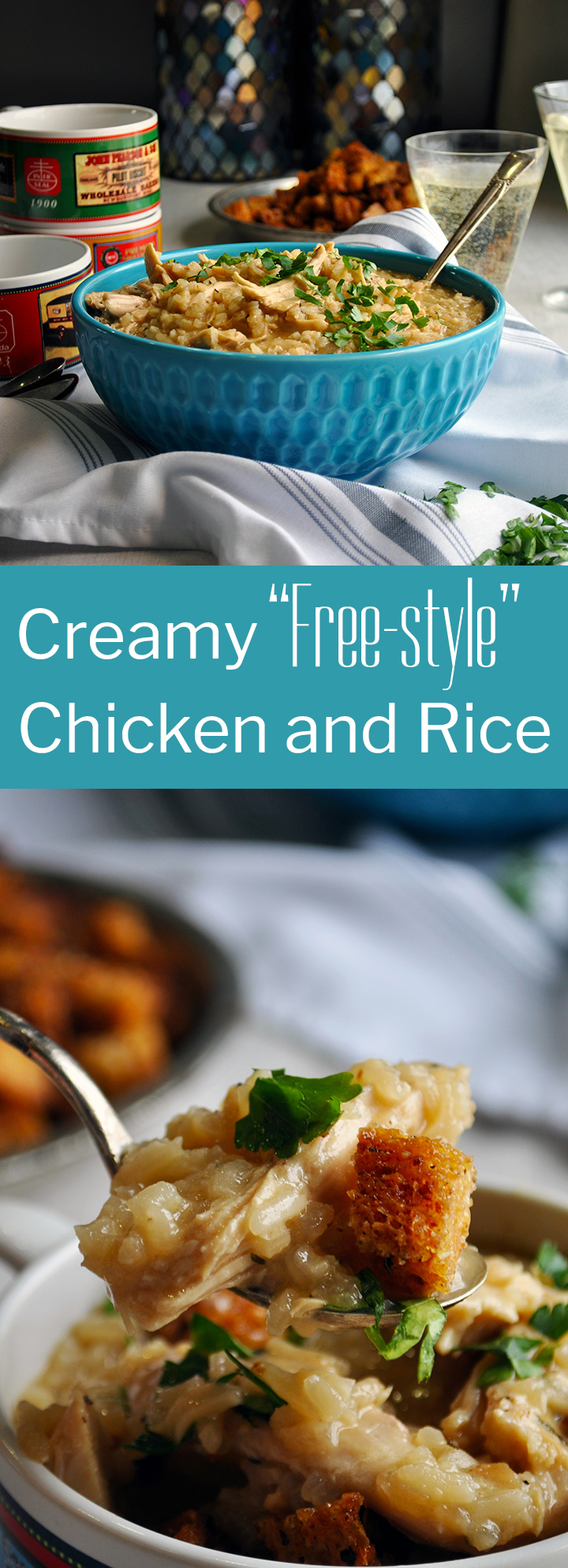 Creamy Chicken and Rice recipe
