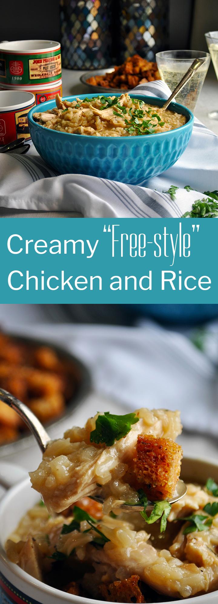 Creamy Chicken and Rice recipe