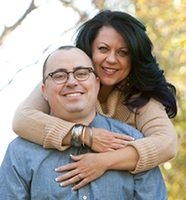 Rebecca Blackwell, with husband Steve Blackwell.