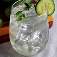Cocktail Pairing: Cucumber Gimlet with Mint