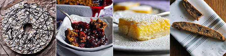 Suggested baking recipes for this week.