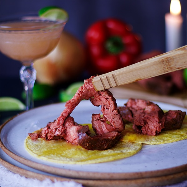 Flank Steak Tacos with Pico de Gallo