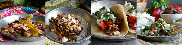 More popular recipes: Mahi Mahi Fish Tacos with Pineapple Coleslaw, Black Bean Tostadas with Corn Salsa, Slow Cooker Carnitas Tacos, Asian Short Rib Nachos