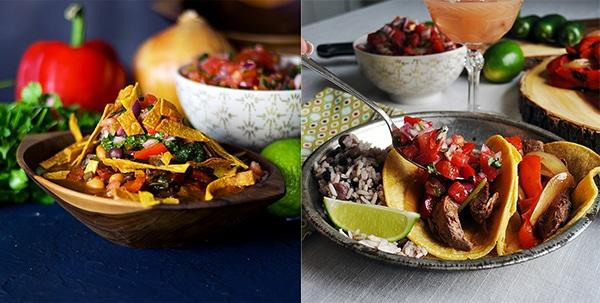 Popular recipes that use Pico de Gallo: Vegetarian Chili with Pico de Gallo and Chimichurri Sauce, Grilled Flank Steak Tacos with Pico de Gallo