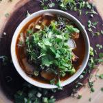 Thai Pork and Noodle Soup