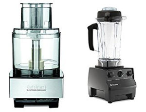 Cuisinart Food Processor and Vitamin Blender