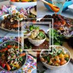 Spring weekly meal plan #1