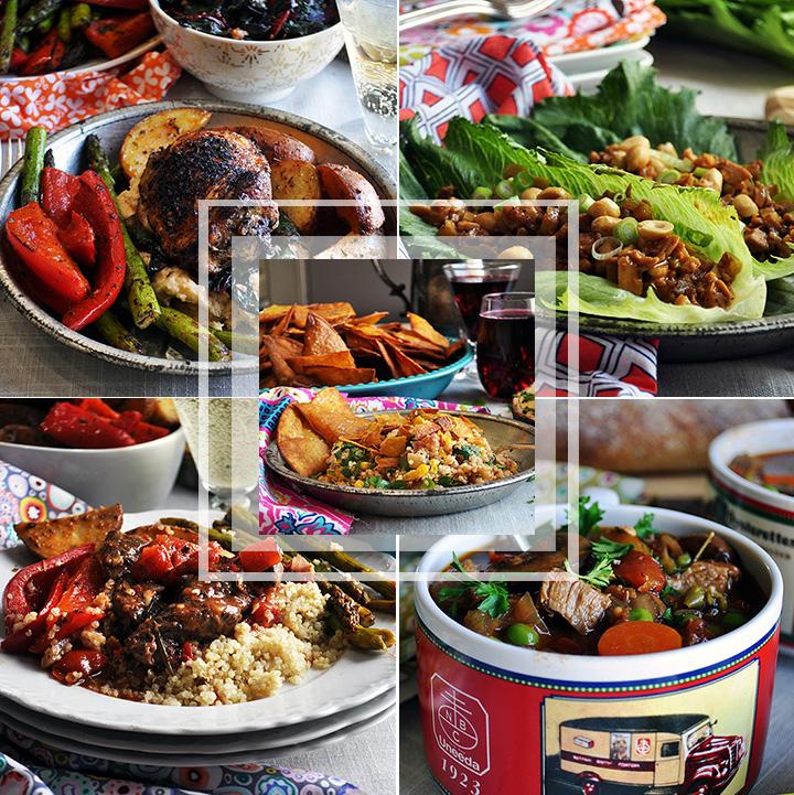 Spring weekly meal plan #3