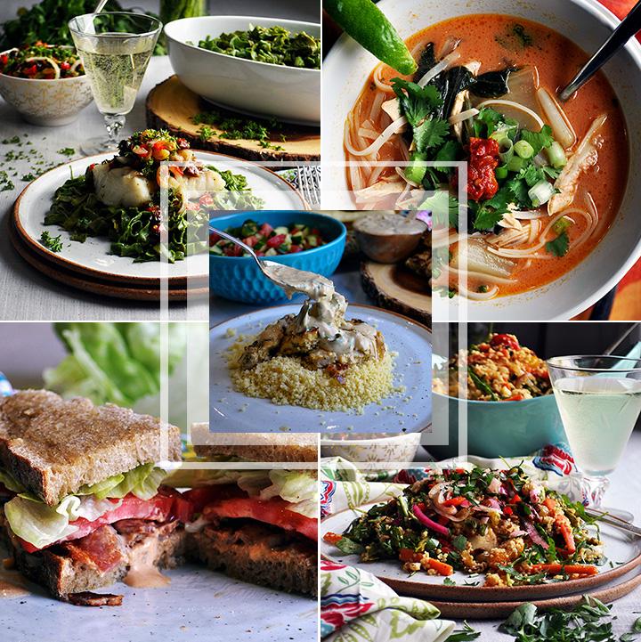 Spring weekly meal plan #5