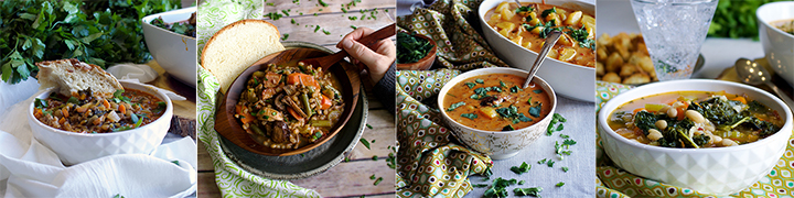 More popular soup recipes: Spanish Style Sausage and Lentil Soup, Beef and Barley Soup with Roasted Mushrooms and Bacon, Spanish Potato Soup, White Bean and Kale Soup with Wild Rice
