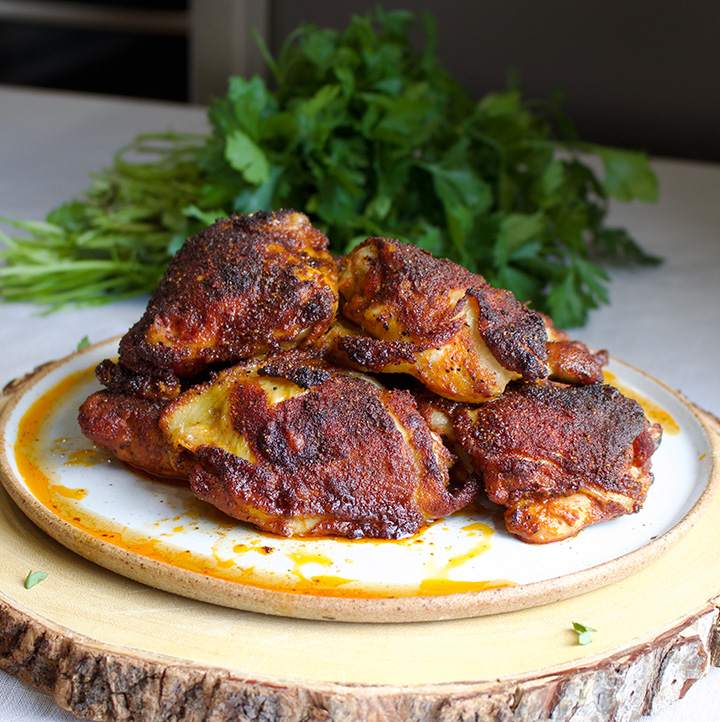 A plate of Paprika Chicken