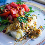 Skillet Cod with Creamy Blackened Corn Relish