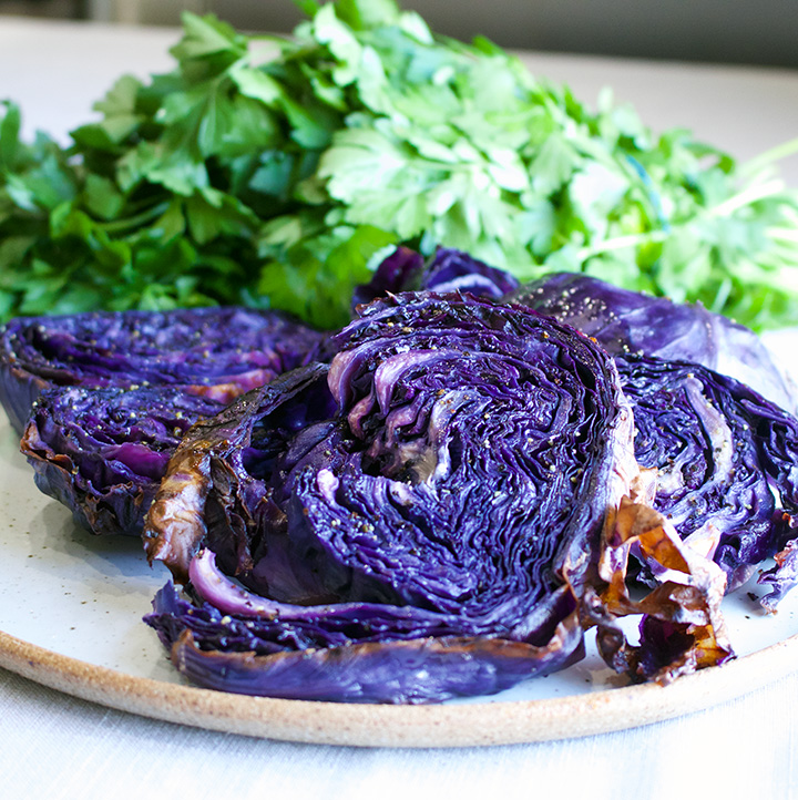 Simple Perfect Roasted Cabbage