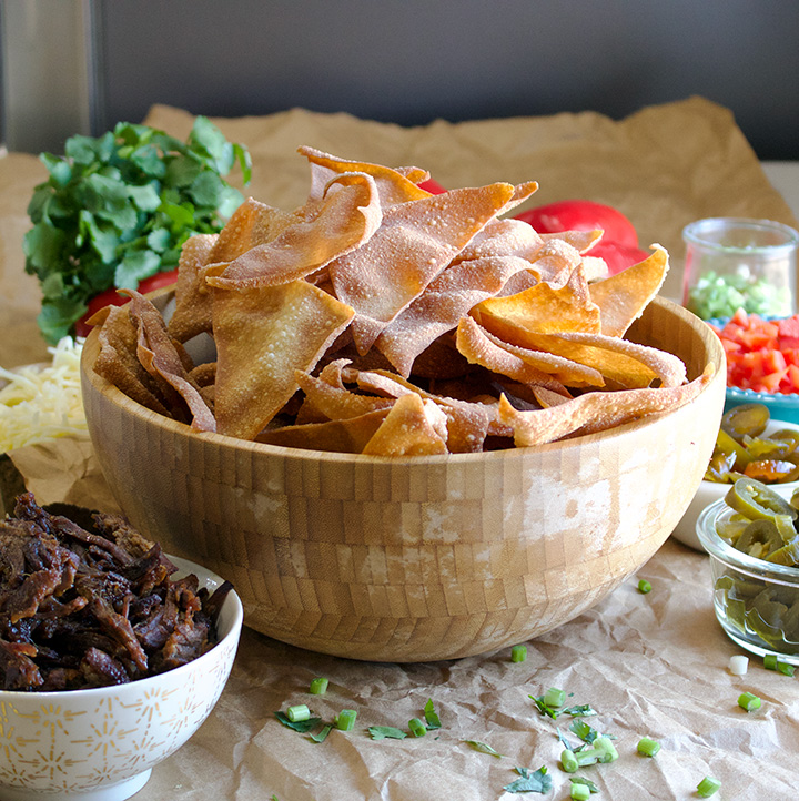 Fried Wonton Chips