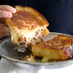 BBQ Beef Grilled Cheese Sandwiches