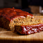 Classic American meatloaf made with sausage.