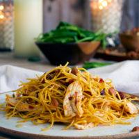 20-Minute Garlic Chipotle Pasta with Chicken