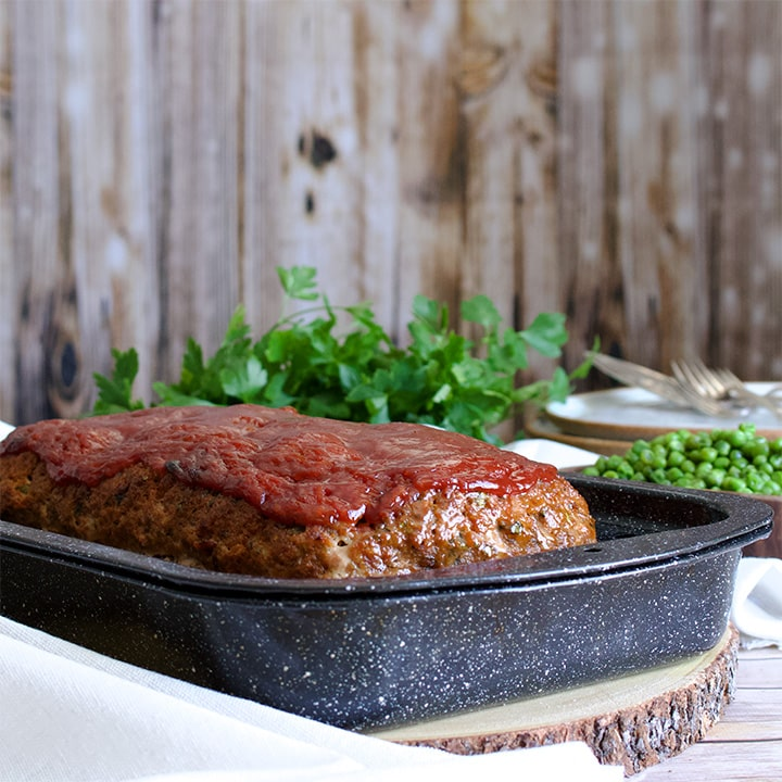Classic Meatloaf - American style meatloaf with Italian Sausage