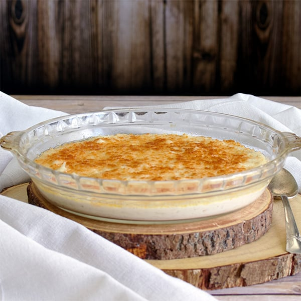 10-Minute Hash Brown Au Gratin Potatoes.