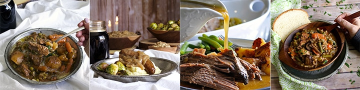More great recipes: Slow Cooker Irish Beef and Guinness Stew, Bangers and Mash with Guinness Onion Gravy, 5-Minute, 5-Ingredient Slow Cooker Pot Roast, Beef and Barley Soup with Bacon and Roasted Mushrooms