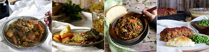 More great recipes: Slow Cooker Irish Beef and Guinness Stew, Corned Beef and Cabbage {Slow Cooker}, Beef and Barley Soup with Roasted Mushrooms and Bacon, Classic Meatloaf {with Sausage}