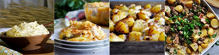 More potato recipes: Cream Cheese Mashed Potatoes, Potato Gratin with Smoked Salmon and Paprika Cream Sauce, Simple Perfect Roasted Potatoes, Zuppa Toscana with Potatoes and Sausage