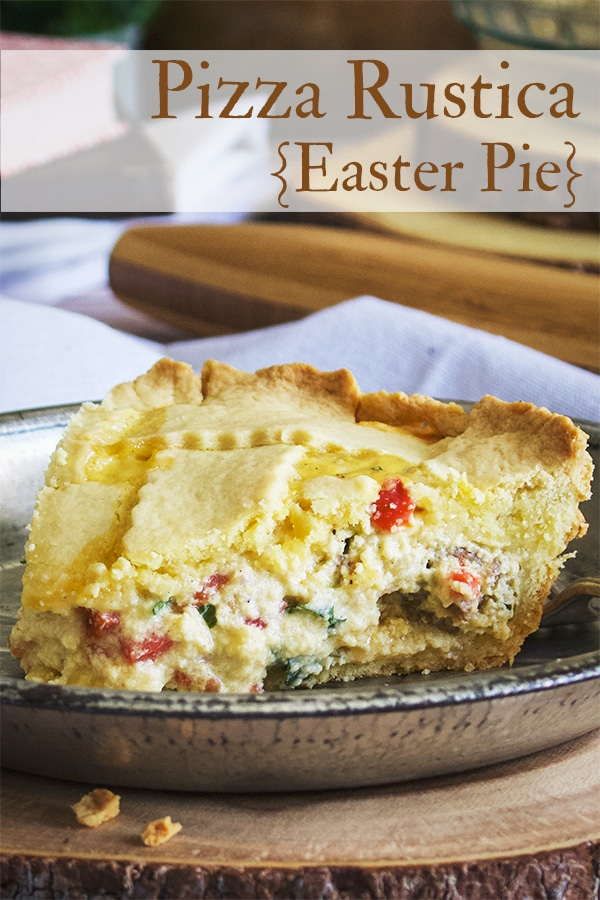 Pizza Rustica {Italian Easter Pie}