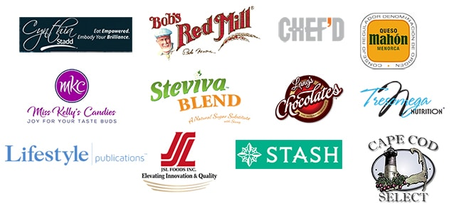 Brands I've worked with as a food blogger, recipe developer, and food photographer.