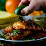 Adobo Fish Tacos