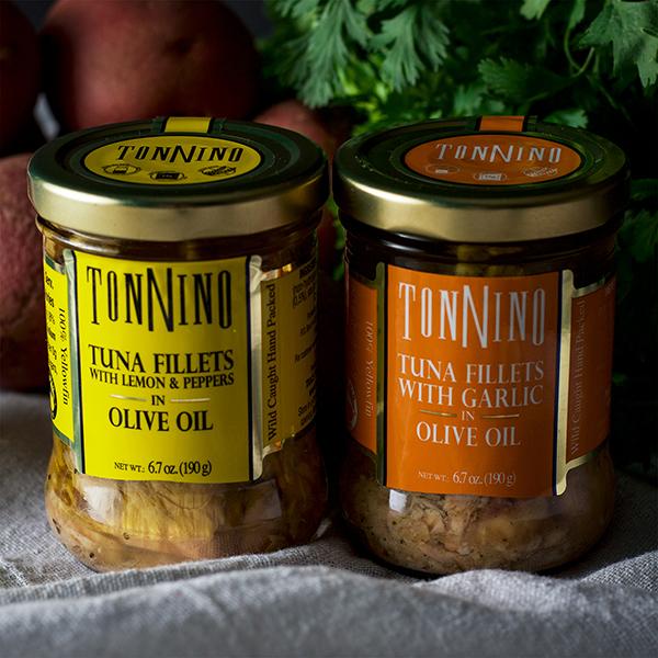 Tonnino Tuna fillets.