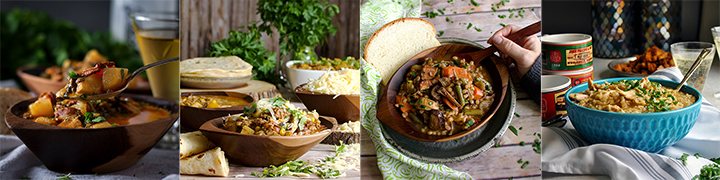 More delicious soup recipes: Zuppa Toscana, Creamy Chicken Chili, Beef and Barley Soup, Creamy Chicken and Rice