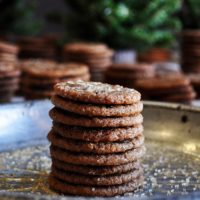 Dessert Pairing: Mini Ginger Snaps