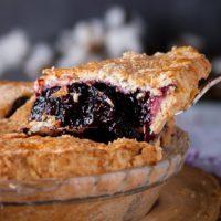 Dessert Pairing: The BEST Blueberry Pie {with fresh or frozen blueberries}
